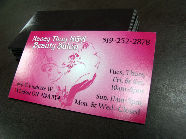 Acko Printing Windsor Ontario Canada Magnetic Business Cards